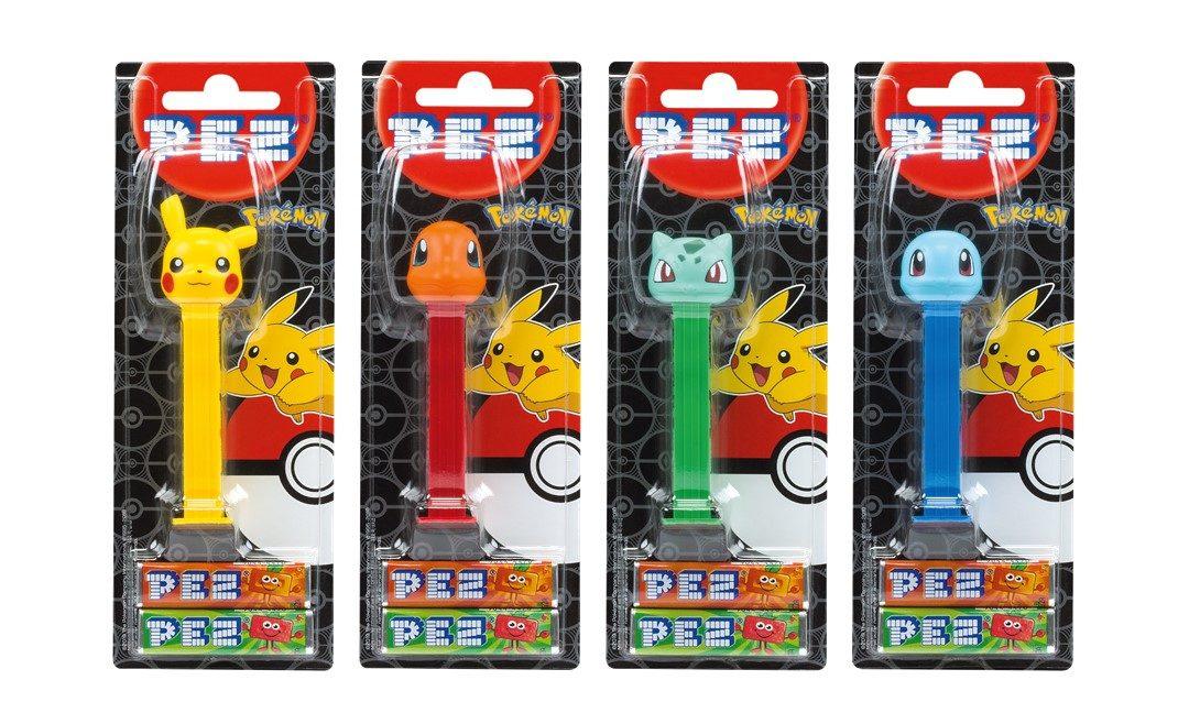 Nová kolekcia PEZ figúrok Pokémon